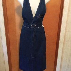 Jean Skirt / Bib Top
